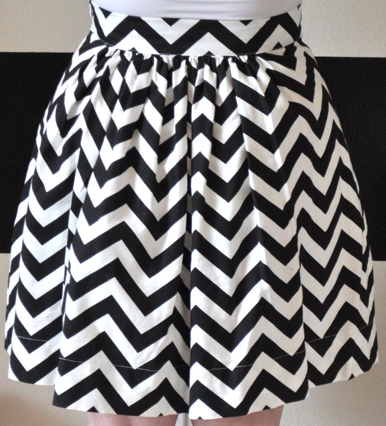 a-line-chevron-skirt