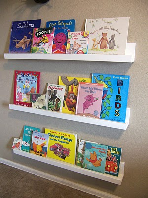 The last one for today is from one of my favorite blogs called Craft. One   Kids NewWave Book Display Book Shelf -kids furniture