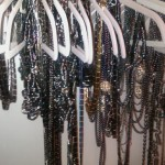 hangar of necklaces