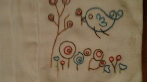 Hand Embroider - A Little Birdie Told Me