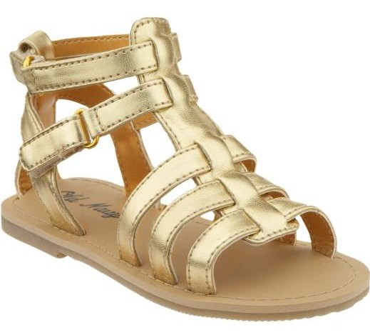 ab5114fa7a5 Old Navy gold sandal