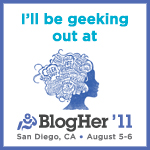 BlogHer '11 5 Weeks Away
