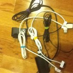 Easy Way to Pack Charging Cords