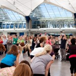 The FlashMob moment at #BlogHer11