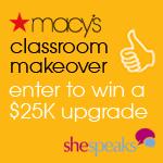 Macy's Classroom Makeover
