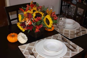 $11! Autumn Centerpiece