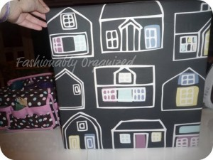 Fabric Covered Bulletin Board in 30 Minutes