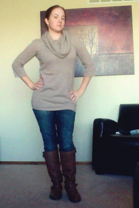 TJ Maxx Cynthia Rowley Cowl Neck Cashmere Sweater
