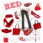 Jeans With Red Shoes and Bags – Fashion Friday