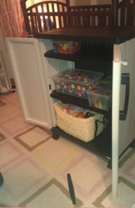 Toy Storage Solution on The Centsible Life