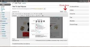Polyvore html tab