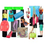 Hot! Hot! Hot! Neon Summer #FashionFriday