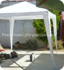 our gazebo-like canopy