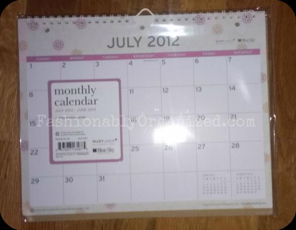 Blue Sky Calendars Make Back To School Easier