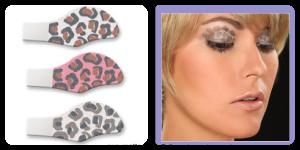 leopard eye shadow