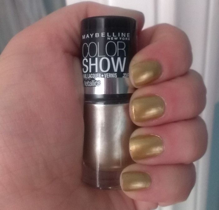 Color Show Bold Gold
