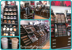 make up for ever display collage
