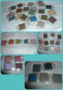 Avon eyeshadow collage