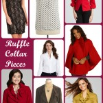 Great Pieces with Ruffled Collars – #FashionFriday