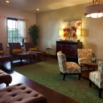 The New Luxe Lounge at the Spa at La Costa
