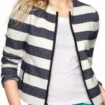 Wear a Striped Twill Jacket 3 Ways #FashionFriday