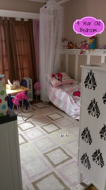 4 year old bedroom