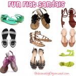 Fun Flat Sandals Under $50
