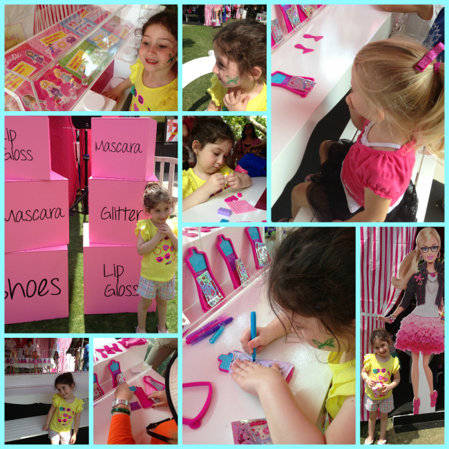 A at Barbie Event Collage