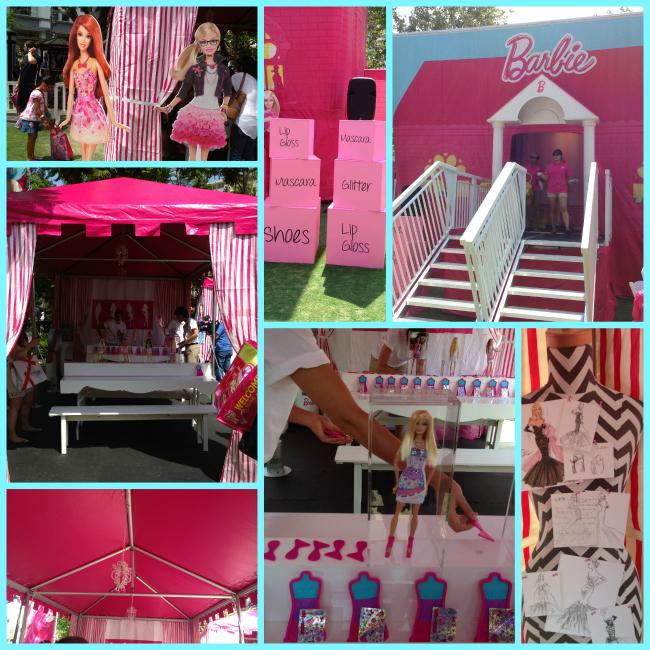 Barbie Event Collage