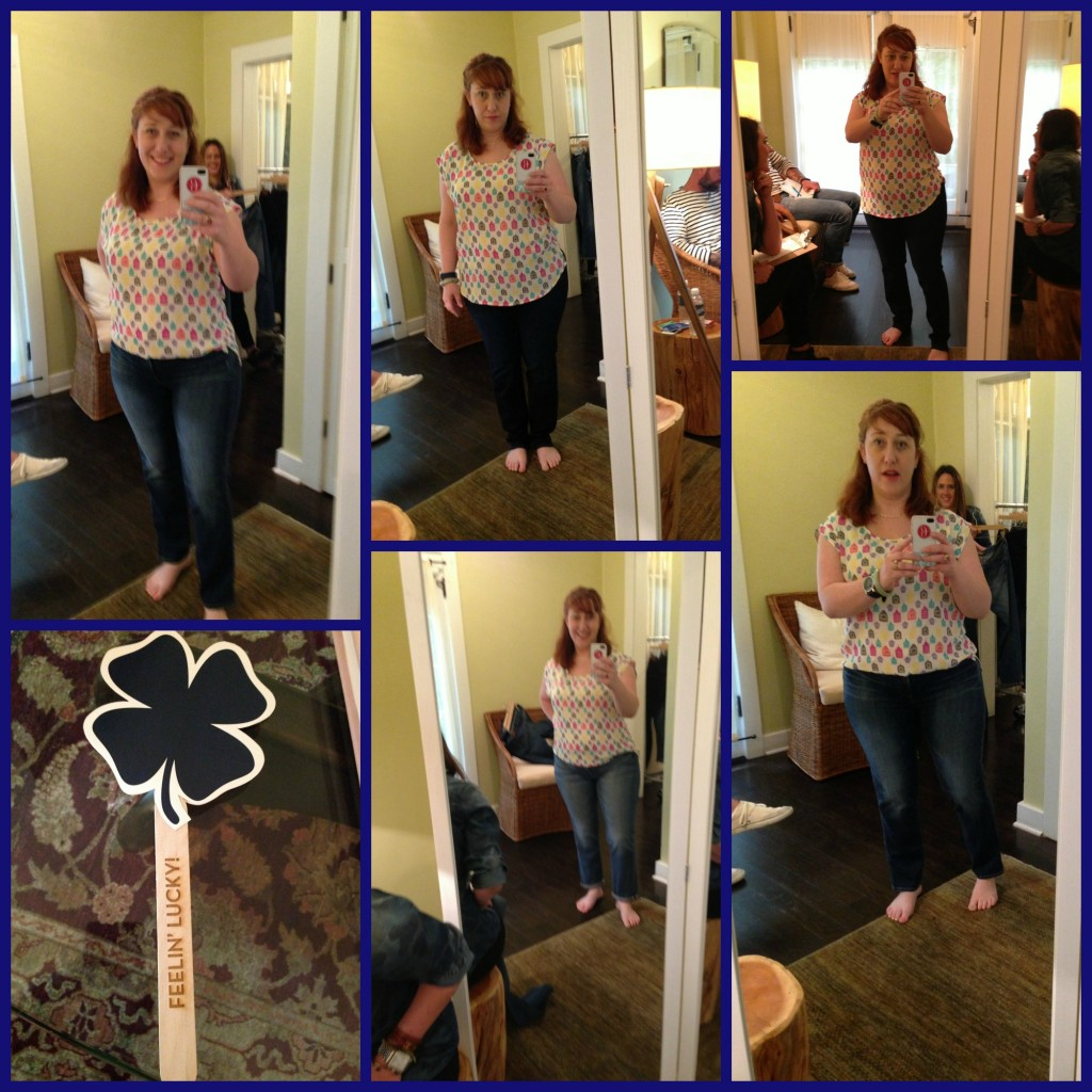 Try On Lucky Jeans