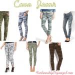 Trendspotting: Camo Jeans