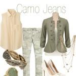 camo jeans looks