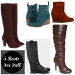 5 Boots For Fall '13