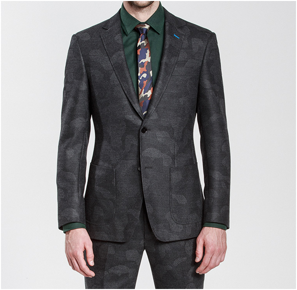 Grey Camo Winter Suit